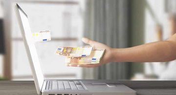 La souscription d'un prêt d'argent en ligne